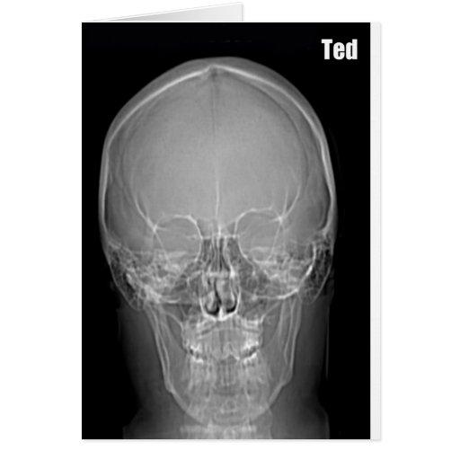 X-ray Ted Birthday Card