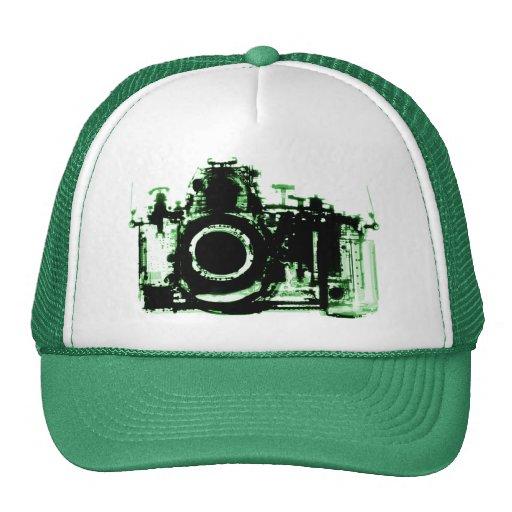 X-RAY VISION CAMERA - GREEN HAT
