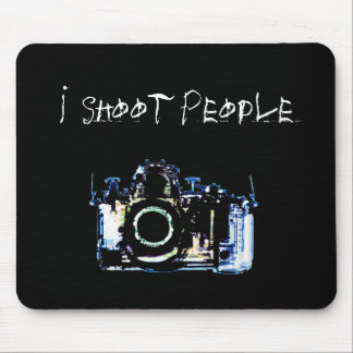 X-RAY VISION CAMERA ORIGINAL - I Shoot People Mouse Pad