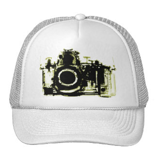 X-RAY VISION CAMERA - YELLOW TRUCKER HAT