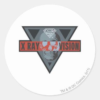 X-Ray Vision Round Sticker