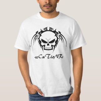 -x Short Sleeve Tee 001 - Tribal Skulls