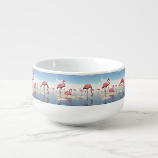 x soup bowl with handle