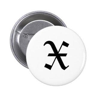 X-text Old English Pins