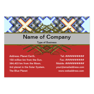 X Waves Big Business Cards