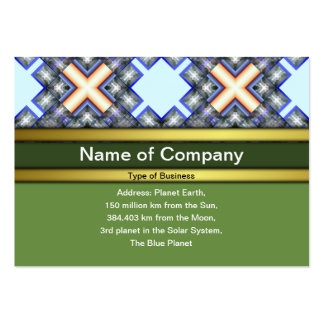 X Waves Big Pack Of Chubby Business Cards