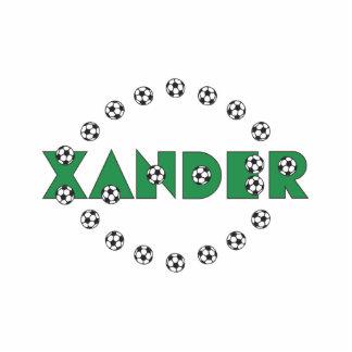 Xander in Soccer Green Photo Sculptures
