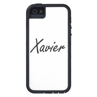Xavier Artistic Name Design iPhone 5 Covers