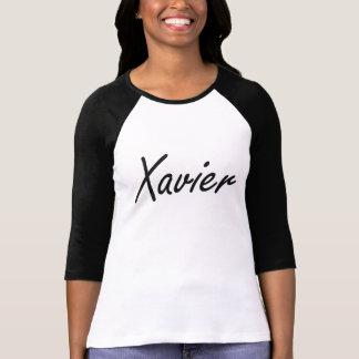 Xavier Artistic Name Design T Shirt