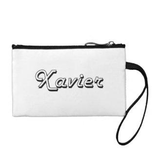 Xavier Classic Retro Name Design Coin Purses