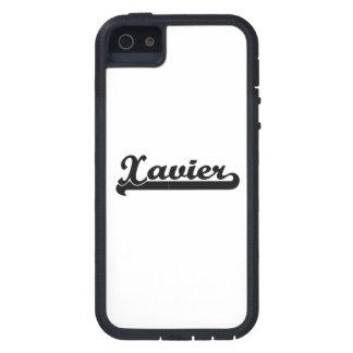 Xavier Classic Retro Name Design Tough Xtreme iPhone 5 Case