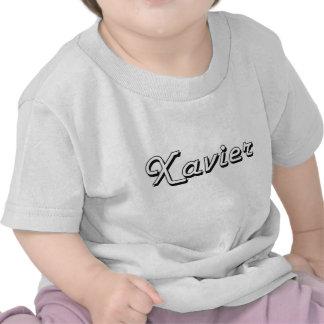 Xavier Classic Retro Name Design T Shirt