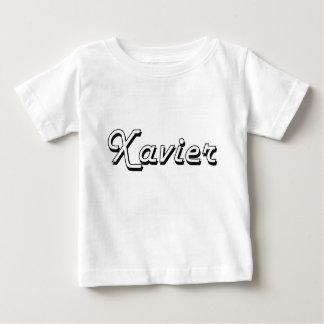 Xavier Classic Retro Name Design Tee Shirt