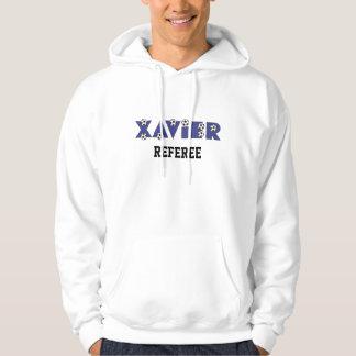 Xavier in Soccer Blue Hoody