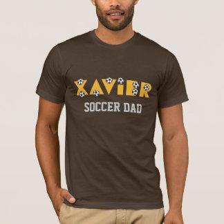 Xavier in Soccer Gold T-Shirt