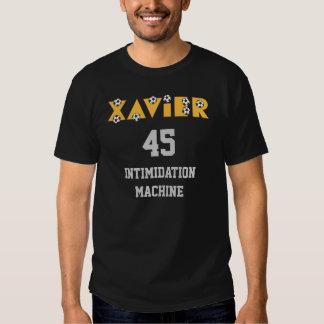 Xavier in Soccer Gold T-shirts