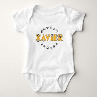 Xavier in Soccer Gold Shirt