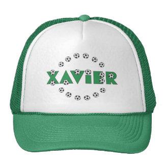 Xavier in Soccer Green Hats