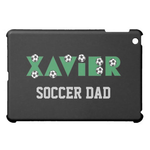 Xavier in Soccer Green iPad Mini Cases