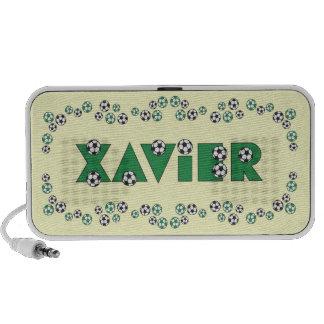 Xavier in Soccer Green Speaker System