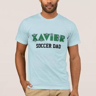 Xavier in Soccer Green T-Shirt