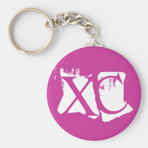 XC - Cross Country Key Chains