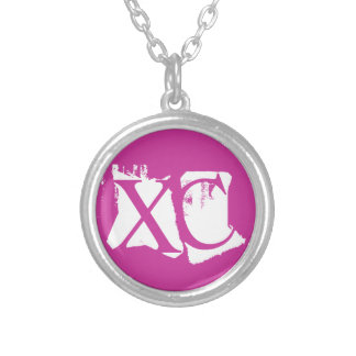 XC - Cross Country - PINK - XC Running Necklace