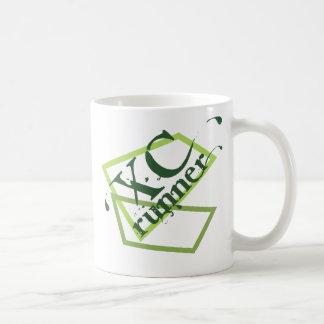 XC Cross Country Runner Basic White Mug