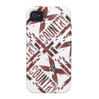 XC Cross Country Runner iPhone 4 Covers
