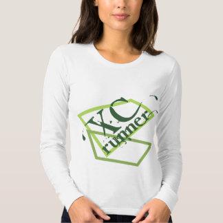 XC Cross Country Runner Tee Shirt
