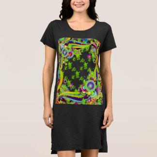 Xcape Fancy Font Carnival Tshirt Dress
