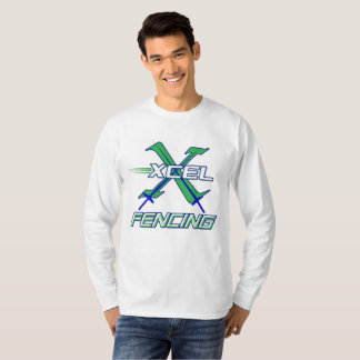 Xcel Fencing Team • Men's Long Sleeve T-Shirt