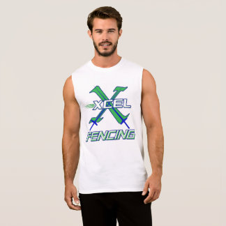 Xcel Fencing Team • Sleeveless T-Shirt
