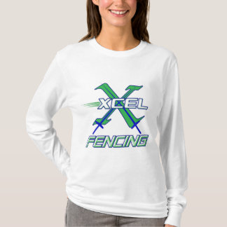 Xcel Fencing Team • Women's Long Sleeve T-Shirt