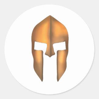 Xeni Spartan Classic Round Sticker