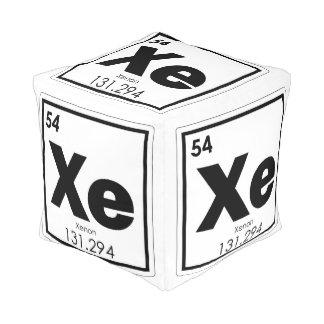 Xenon chemical element symbol chemistry formula ge pouf