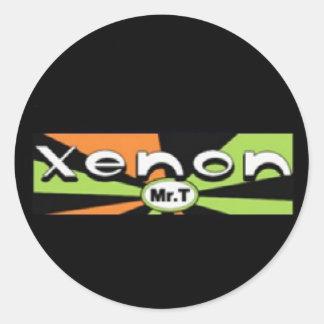 Xenon Sticker