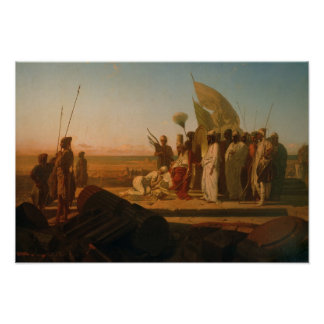 Xerxes at the Hellespont Poster