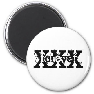 XFOREVERX 6 CM ROUND MAGNET