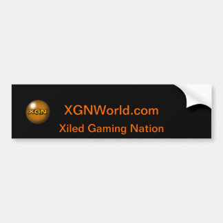XGN Bumper Sticker