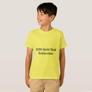 XGN GOLD WOLF T shirt