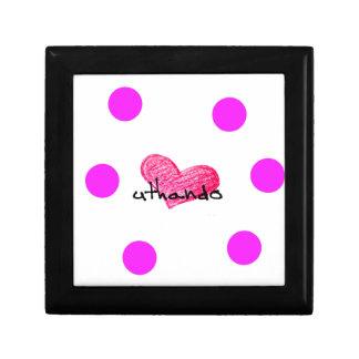 Xhosa Language of Love Design Gift Box