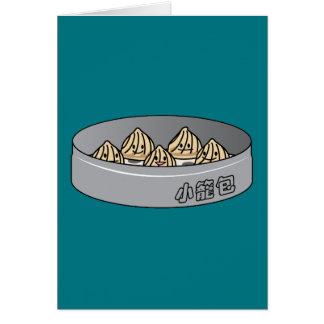 Xiaolongbao Chinese Soup Dumpling Dim Sum Bun Card