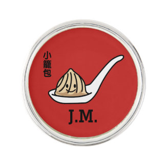 Xiaolongbao Chinese Soup Dumpling Dim Sum Bun Lapel Pin