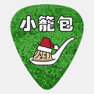 Xiaolongbao Chinese Soup Dumpling Dim Sum Santa Ha Plectrum