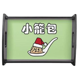 Xiaolongbao Chinese Soup Dumpling Dim Sum Santa Ha Serving Tray