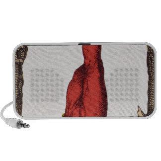 XII The Hanged Man, tarot card Portable Speaker