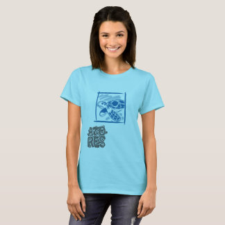 Xinando Azores T-Shirt - Turtle - Woman