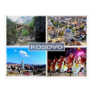 XK Kosovo - Postcard