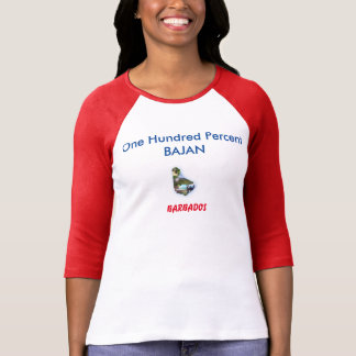 XL One Hundred Percent Bajan T-Shirt